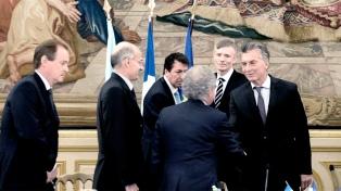 """Macri ante empresarios: """"En el país se está dando una gran batalla contra la corrupción"""""""