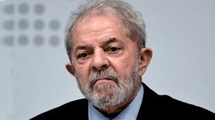 Recomiendan a la Corte rechazar el habeas corpus presentado por Lula