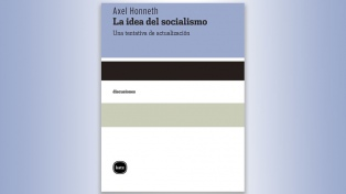 """El libro de la semana: """"La idea del socialismo"""", de Axel Honnet"""