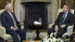 El secretario de Estado de Trump se reunirá con Macri en Argentina