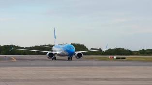 Aerolíneas Argentinas incorporó a su flota un nuevo Boeing 737 MAX 8
