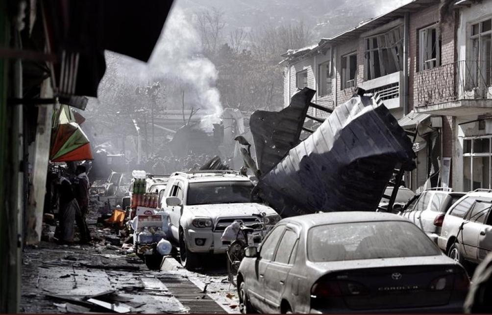 Al menos 40 muertos en otro atentado en Kabul