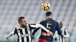 Un gol de Higuaín en la victoria de Juventus que es nuevo puntero