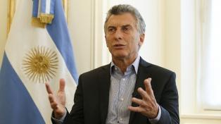 """Macri: """"Hay un gran respeto por el posicionamiento de la Argentina en el mundo"""""""