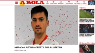 Huracán rechazó una oferta por Ignacio Pussetto del Sporting