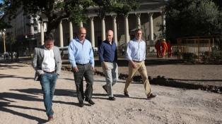 """Larreta, sobre las obras en la Plaza de Mayo: """"Queremos que la gente la disfrute a pleno"""""""