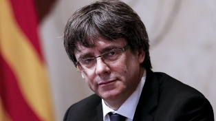 El apoyo a Puigdemont, un gesto simbólico de los independentistas catalanes