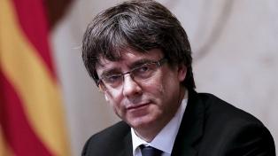 La justicia frenó el último intento de impedir la candidatura de Puigdemont