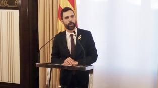 El presidente del Parlamento catalán avanza por la vía de la desobediencia