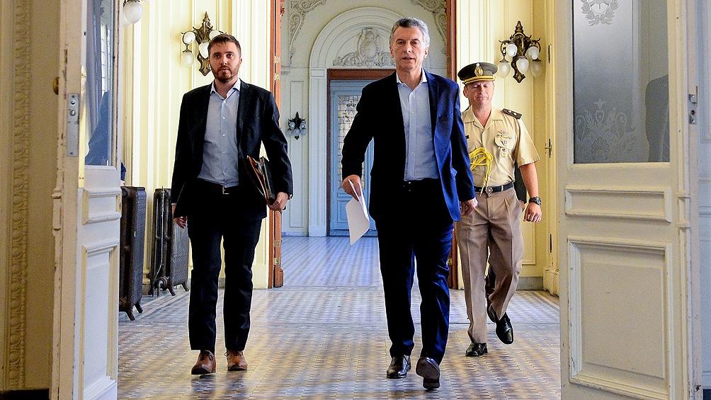Macri se reúne con los integrantes de la mesa chica del Gabinete