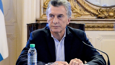 Macri encabeza una reunión de gabinete nacional en la Casa Rosada