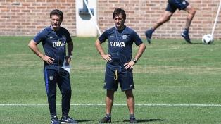 El Mellizo probó con Buffarini por Nandez y Tevez no entrenó por precaución en Boca