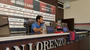 """Valentín Viola: """"Llegar a San Lorenzo es un paso muy importante para mí"""""""