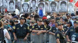 Otra multitudinaria marcha de protesta por el indulto a Fujimori