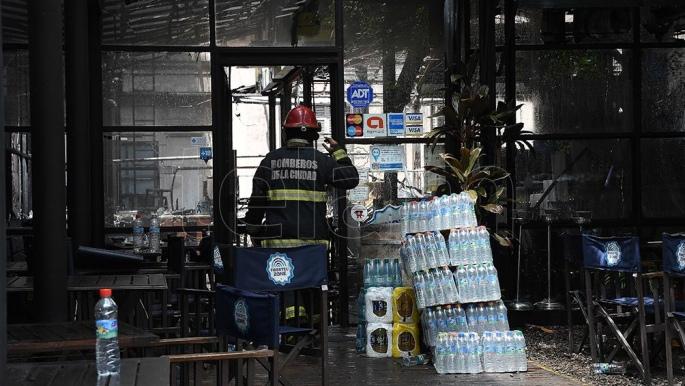 Feroz incendio al lado del Museo Histórico Sarmiento — Belgrano