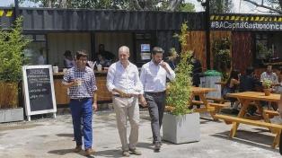 Un nuevo espacio para disfrutar de los sabores frente al Río de la Plata