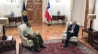 """Bachelet pidió explicaciones al titular de Carabineros por la operación """"Huracán"""""""