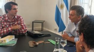 Macri recibió al creador de una plantilla para evitar lesiones a enfermos de diabetes