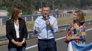 Macri recorrerá mañana obras del tercer tramo de la autopista Camino del Buen Ayre