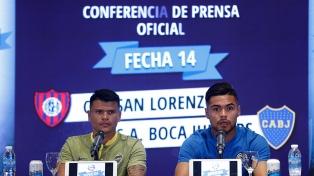 Boca y San Lorenzo palpitan el clásico de la Superliga Argentina
