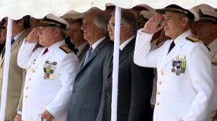 Asumió el nuevo jefe de la Armada uruguaya