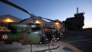 Al menos cinco muertos por un choque entre dos helicópteros militares