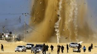 Bombardeos israelíes sobre la Franja de Gaza matan a dos ciudadanos palestinos