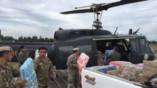 Evacúan a 10 mil personas ante la crecida del río Pilcomayo