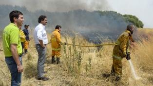 El incendio en Tornquist afectó a 20.000 hectáreas