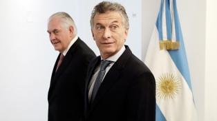 Macri y Tillerson repasaron en Olivos la agenda bilateral de ambos países