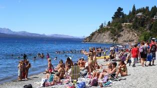 Bariloche recibió unos 100.000 turistas en enero, con aumento de europeo