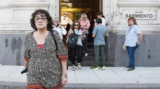 La titular de Ctera responsabilizó al Gobierno por el paro nacional docente