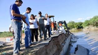 """Salta arranca la reconstrucción pero debe haber """"condiciones sanitarias necesarias"""""""