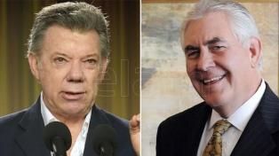 EEUU y Colombia coinciden en la necesidad de restaurar la democracia en Venezuela