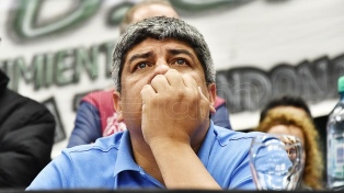 """Pablo Moyano: """"Con Palazzo coincidimos en una CGT firme y no arrastrada ni callada"""""""