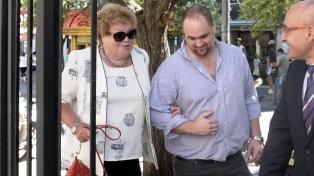 """La madre de Balcedo se negó a declarar y pidió la """"extinción de la acción penal"""""""