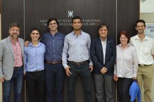 Estudiantes de la UTN fueron premiados en una competencia internacional