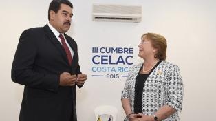 """Bachelet alertó sobre las """"consecuencias catastróficas"""" si no hay un """"diálogo inmediato"""""""