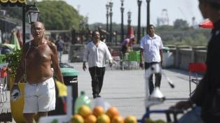 Se espera una jornada calurosa en la Ciudad de Buenos Aires y alrededores