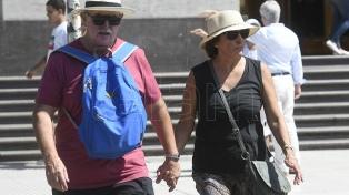 Sábado caluroso en la ciudad de Buenos Aires y alrededores