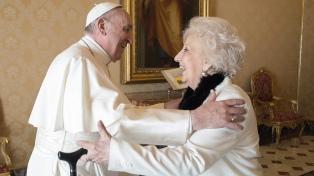 """Carlotto fue recibida por el Papa: """"Está preocupado por la Argentina"""""""