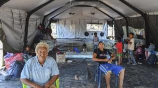 Comunidades originarias piden permanecer en centros de evacuación hasta reconstruir sus casas