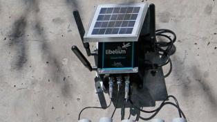 Instalan la primera estación de monitoreo online de calidad de agua en el río Limay