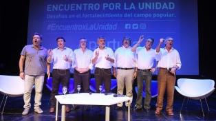 Distintos sectores del peronismo se reunieron en búsqueda de la unidad
