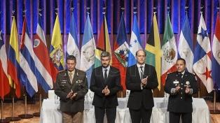 El titular de Gendarmería asumió la presidencia de la comunidad de policías de América
