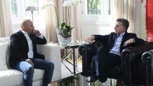Macri tuvo un encuentro con Sampaoli en Olivos
