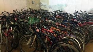 Recuperarán bicicletas embargadas para alumnos de escuelas rurales