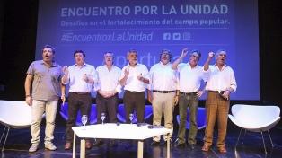 """La reunión """"por la unidad"""" del PJ avivó la grieta entre dirigentes de la oposición"""