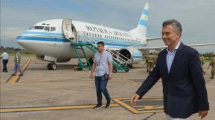Macri viaja a Misiones para reunirse con cuatro gobernadores del NEA