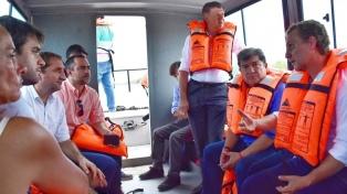La provincia está en alerta por la crecida de los ríos Teuco, Bermejo y Paraguay
